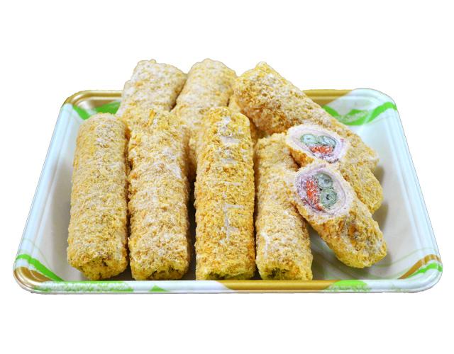 冷凍食品野菜チーズ巻き